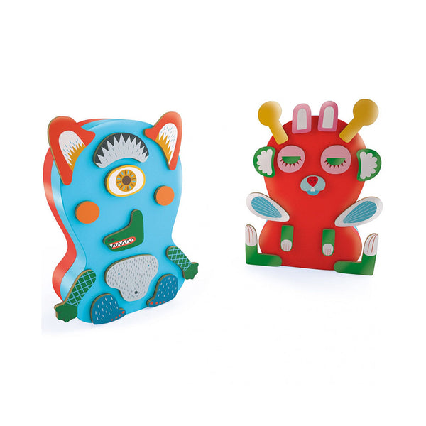 Magnetic Monsters Game in Tin by Djeco