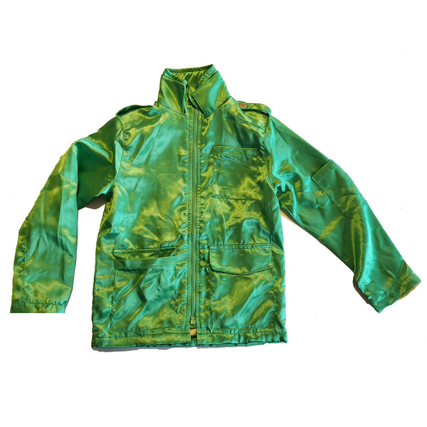 Green Eagle Print Jacket by Moonkids