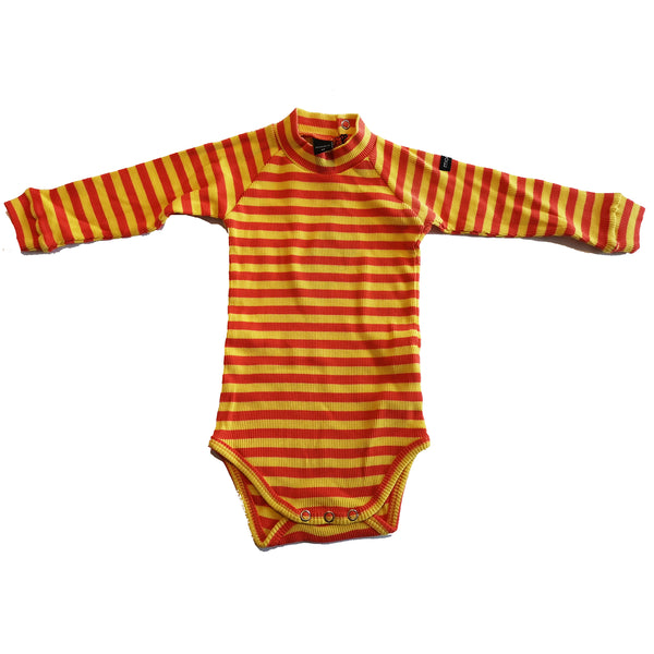 Orange and Yellow Long Sleeved Body by Moonkids