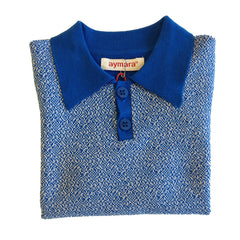 Morris Polo Shirt in Blue & White - Size 2Y - Last one! - Little Citizens Boutique  - 4