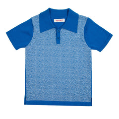 Morris Polo Shirt in Blue & White - Size 2Y - Last one! - Little Citizens Boutique  - 3