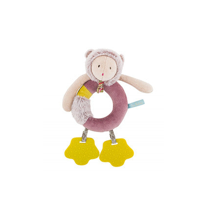 Mouse Ring Rattle by Moulin Roty - Little Citizens Boutique