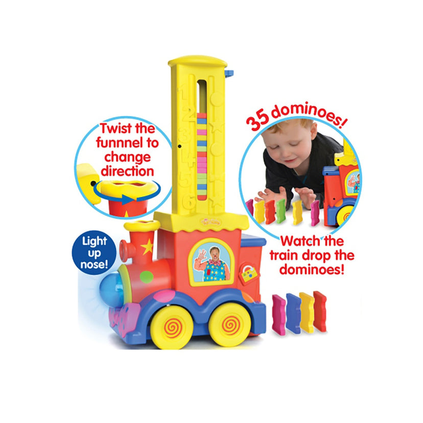Mr Tumble Domino Train