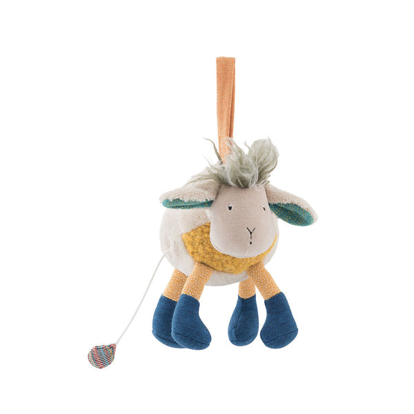 Musical Sheep Toy by Moulin Roty