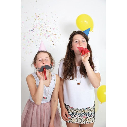 Mustache & Lips Party Blowers by Meri Meri