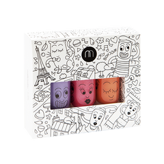 CITY Three Pack - Wash Off Kids Nail Polish by Nailmatic - Little Citizens Boutique