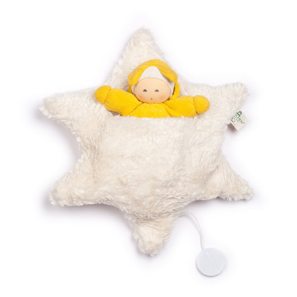 Organic Musical Star Plush Toy by Nanchen