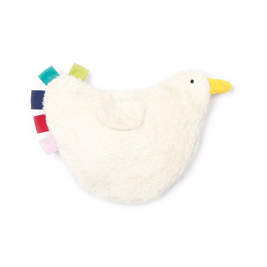 Organic Hen Plush Heater Toy for Babies by Nanchen