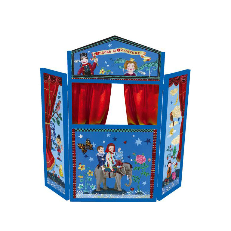 Nathalie Lete Wooden Puppet Theatre of Adventures - Little Citizens Boutique  - 1