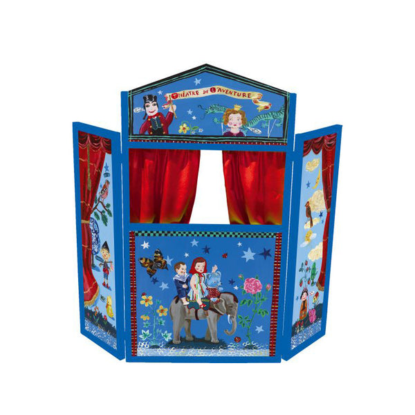 Nathalie Lete Wooden Puppet Theatre of Adventures
