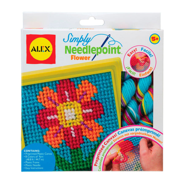 Needlepoint Flower Toy Craft Kit by Alex Toys