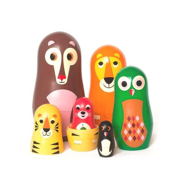 Matryoshka Animal Russian Doll Nest by Omm Design