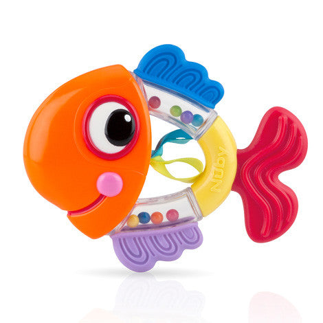 Nuby Fun Rattle Teether Fish