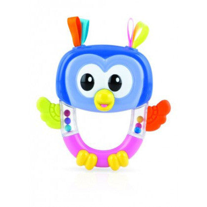 Nuby Fun Rattle Teether Owl