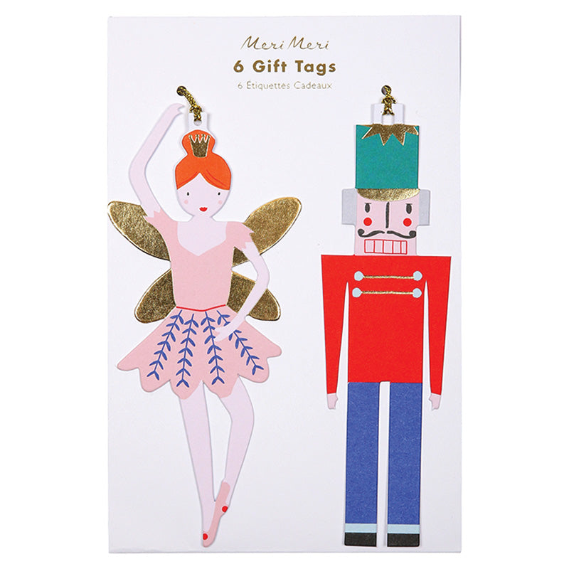 Nutcracker Gift Tags  by Meri Meri