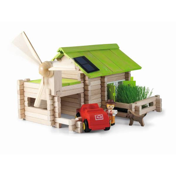 Organic Farm Building Set 145 Piece by Jeujura