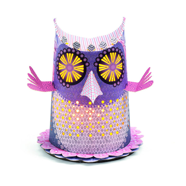 Owl Paper Lantern / Night Light - by Djeco