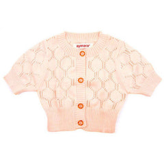 Bianca Cardigan in Petal Pink - Little Citizens Boutique  - 2