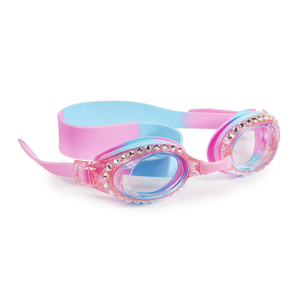 Snow Cone Rhinestone Kid's Swimming Goggles by Bling2o