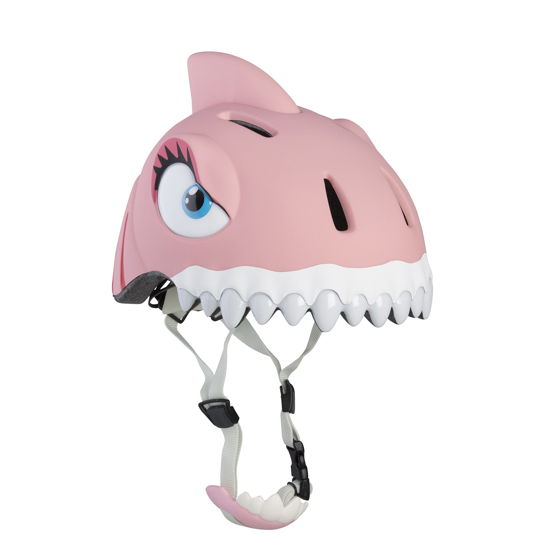 Pink Shark Bike, Scooter or Skateboarding Helmet by Crazy Safety - Little Citizens Boutique  - 1