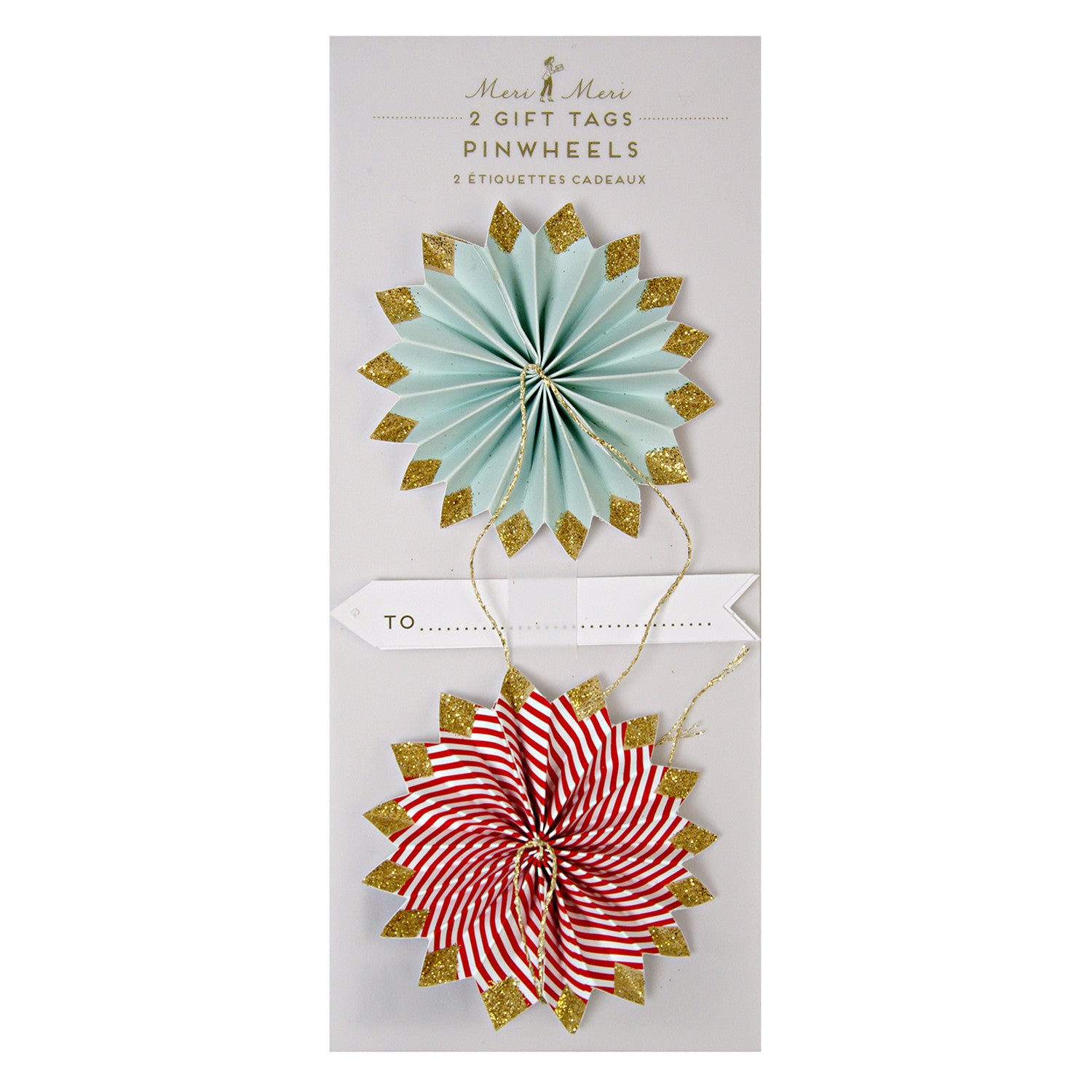Pinwheel Gift Tags Meri Meri - Little Citizens Boutique  - 1