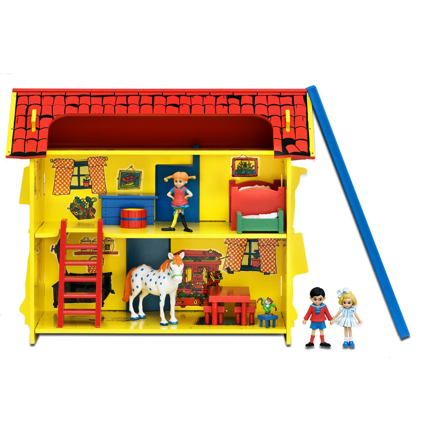 Pippi Longstocking - House Set includes Furniture & Figurines - Little Citizens Boutique  - 1