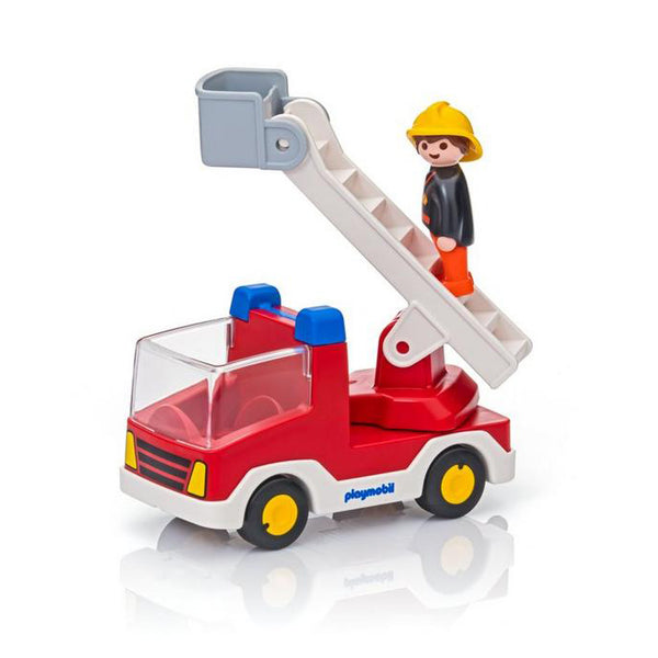 Playmobil 123 Ladder Unit Fire Truck Toy