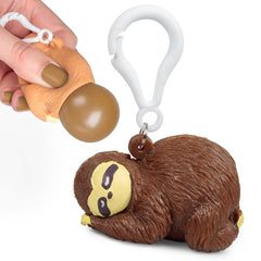 Pooing Sloth Bag Buddy by Tobar