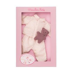 Poupee Pyjama Outfit with Teddy Bear - Little Citizens Boutique
