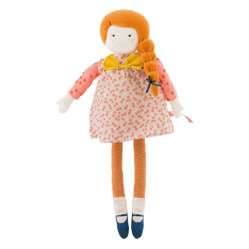Mademoiselle Colette Plush Doll by Moulin Roty