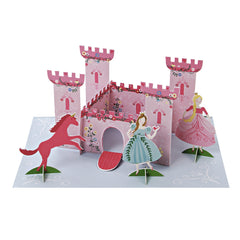 Princess Pop Up Castle Card by Meri Meri - Little Citizens Boutique  - 2