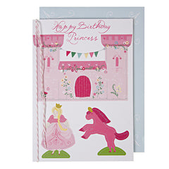 Princess Pop Up Castle Card by Meri Meri - Little Citizens Boutique  - 1