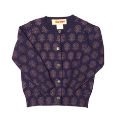Sapphire Printed Cardigan by Siaomimi - Little Citizens Boutique  - 1