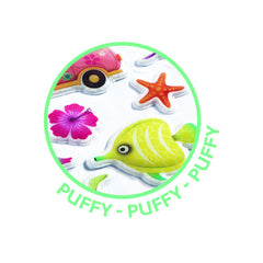 Djeco Puffy Hawaii Beach stickers - Little Citizens Boutique  - 2