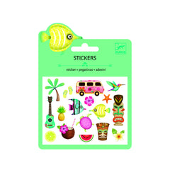 Djeco Puffy Hawaii Beach stickers - Little Citizens Boutique  - 1