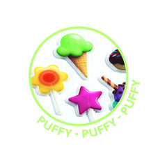 Djeco Puffy Sweet Treats stickers - Little Citizens Boutique  - 2