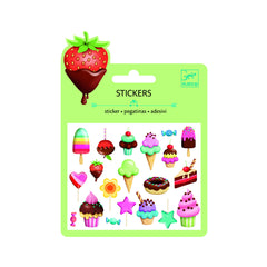 Djeco Puffy Sweet Treats stickers - Little Citizens Boutique  - 1
