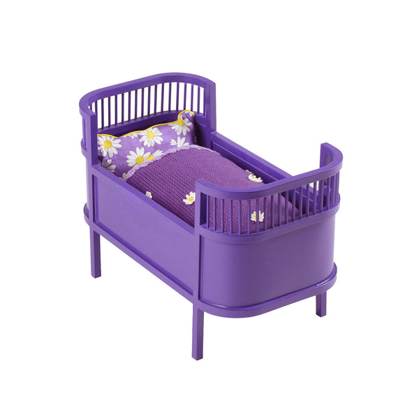 Purple Danish Baby Doll Cot - Smallstuff