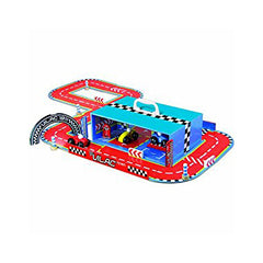 Race Car Set with multiple Tracks by Vilac