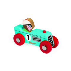 Copy of Janod racing Retromotor Blue - Little Citizens Boutique