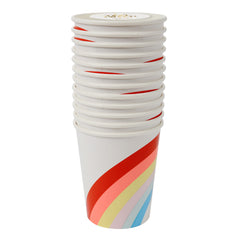 Rainbow Paper Cups by Meri Meri - Little Citizens Boutique  - 2