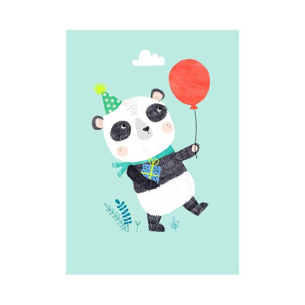 Panda Postcard by Rebecca Jones