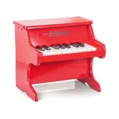 Red Lacquer Toy Piano by Schylling