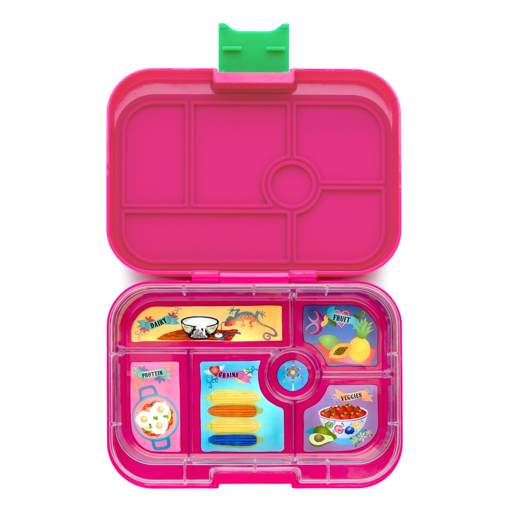 Rosa Pink Classic Leakproof Lunch Box - Yumbox - Little Citizens Boutique  - 1