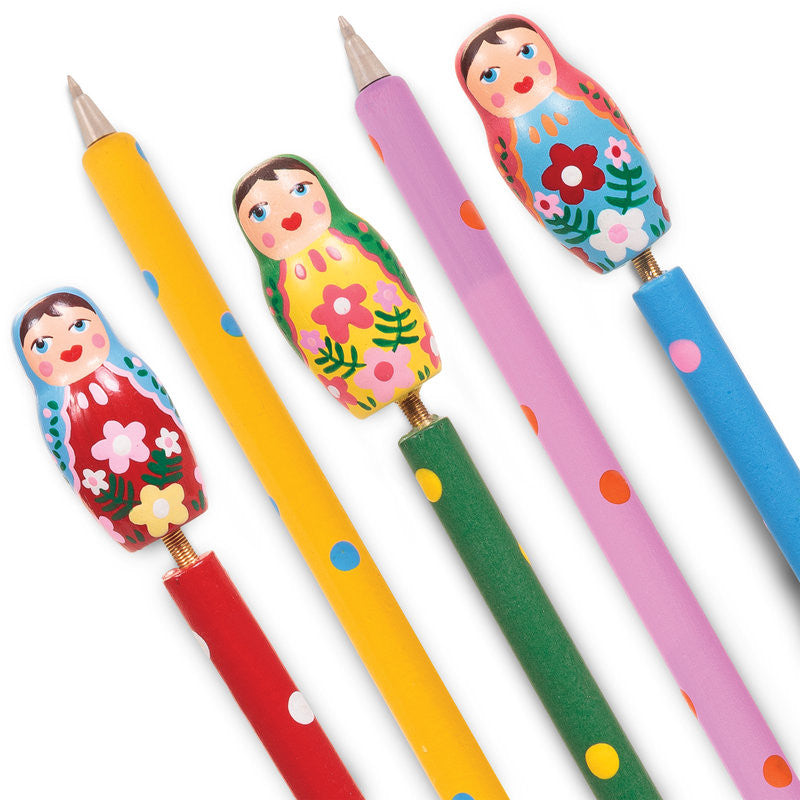 Russian Doll Pens by Tobar - Little Citizens Boutique  - 1