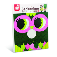Sackanimo - Owl Dress Up by Janod - Little Citizens Boutique  - 2