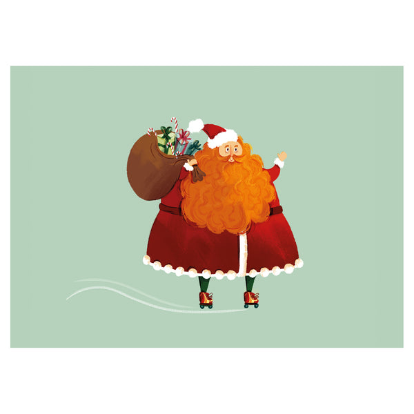Santa Christmas Card by Little Citizens Boutique