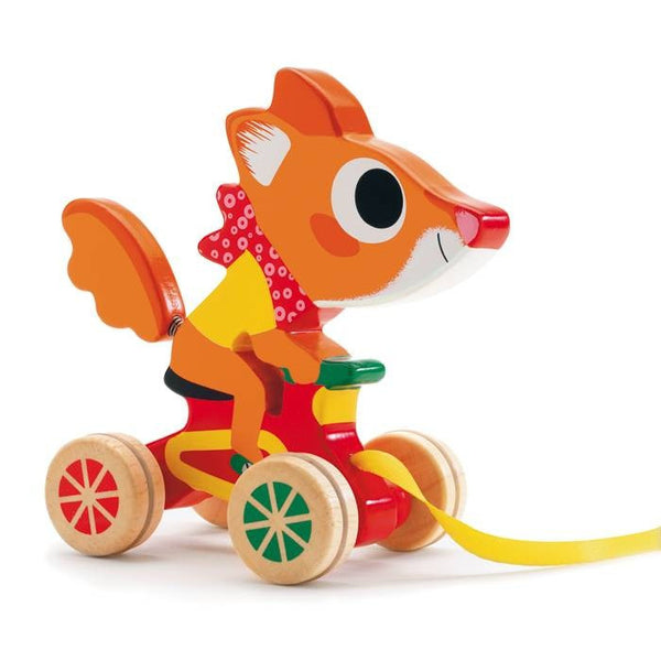 Pull Along Toy - Scouic the Fox