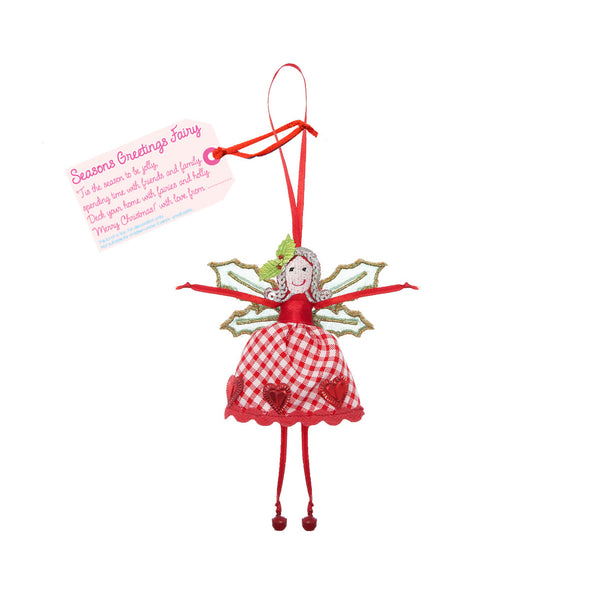 Seasons Greetings Fairy By Believe You Can