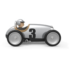 Racing Car Silver by Baghera